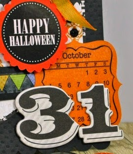 SRM Stickers - October 31st Card by Cathy H. - #halloween #card
