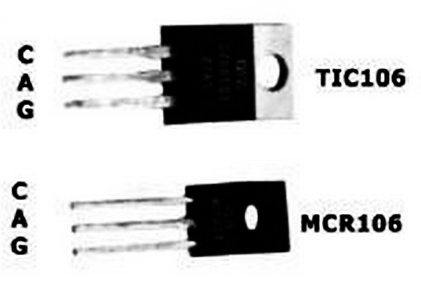Circuito Com Scr Tic 106 : EletrÔnica geral interruptor de onda completa com scr