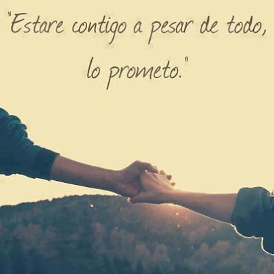 Estar contigo a pesar de todo, lo prometo (imagenes para facebook imagenes divertidas imagenes de frases )