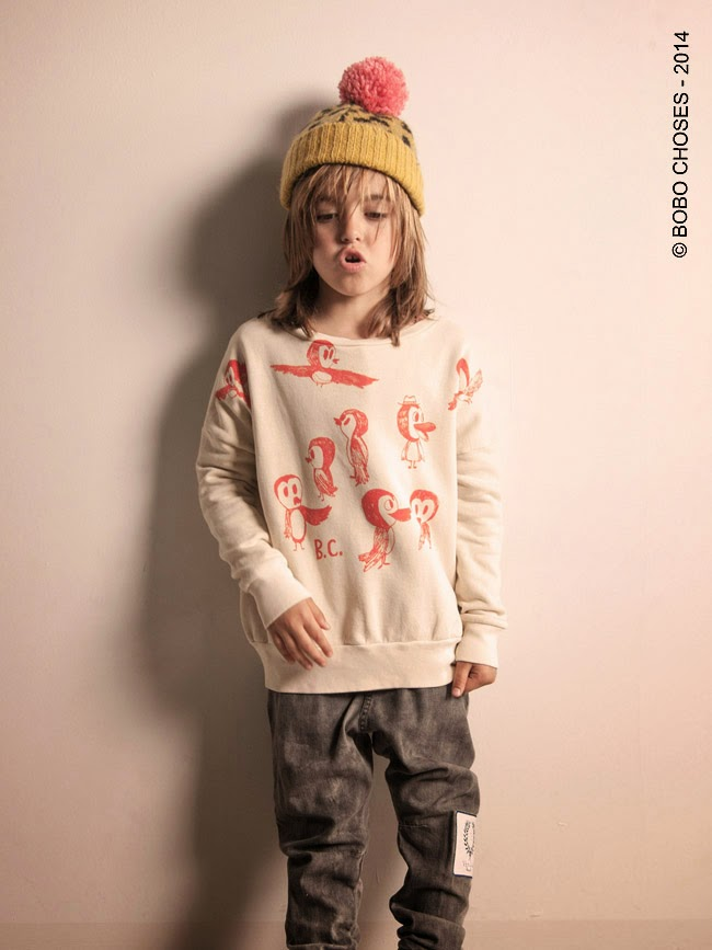 "Bobo Choses Autumn-Winter 2014/15 ""A day in L.A"""