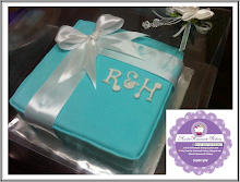 Tiffancy turqoius box fondant
