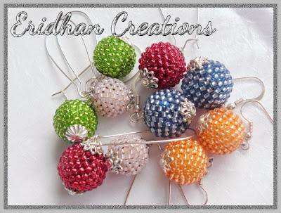 beaded balls