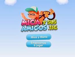 Juega con Mica y Mono