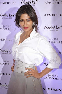 Chitranghada Singh in white shirt and skirt at Gemsfield India   Project Blossoming