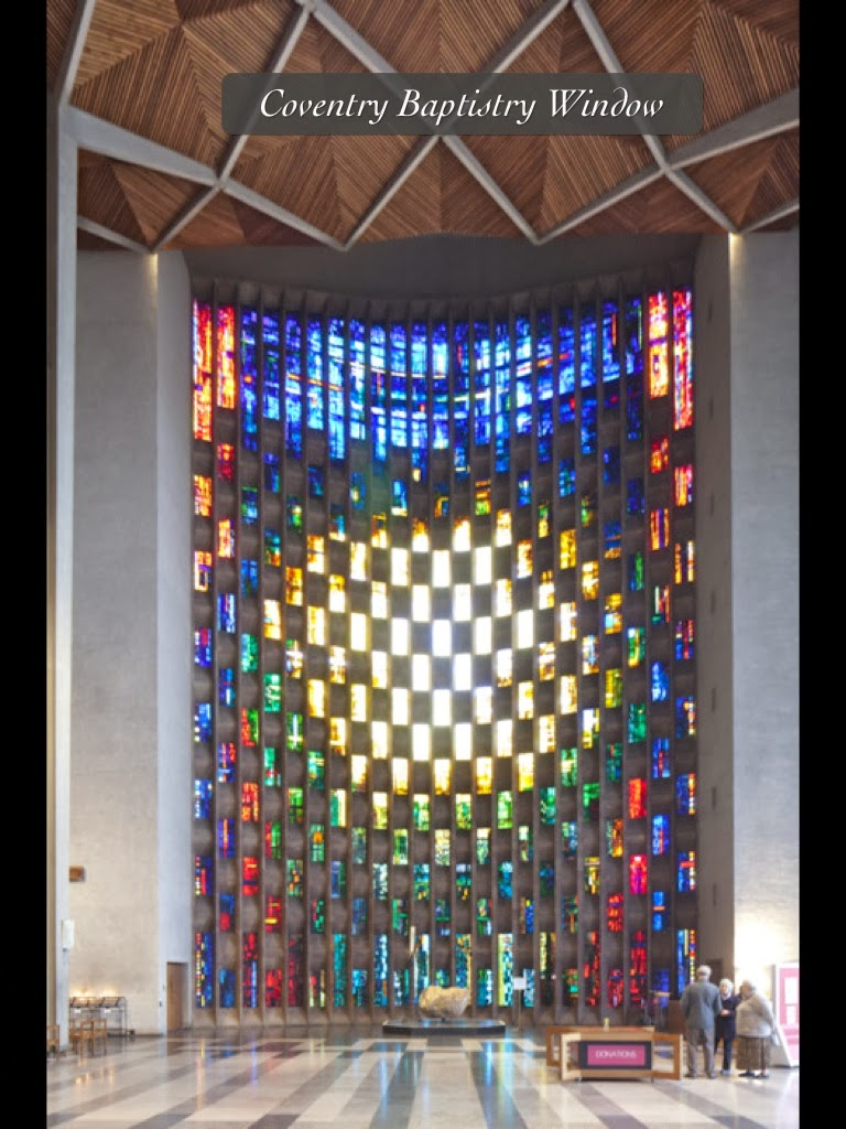 Coventry Cathedral Baptistry