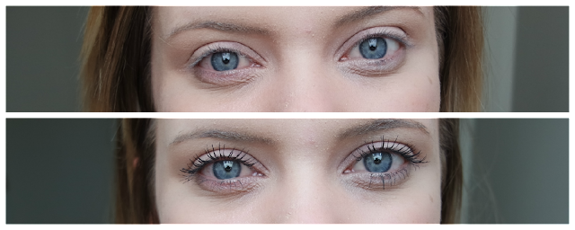 Essence Lash Princess Volume Mascara Review Before and After