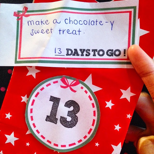 Christmas Activity Advent Calendar - 13 Days to Go