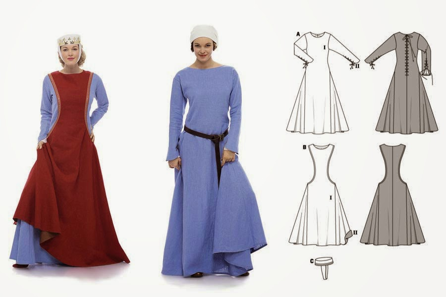 So Steady as She Sews: Medieval Fantasy Kirtle and Paternoster ...
