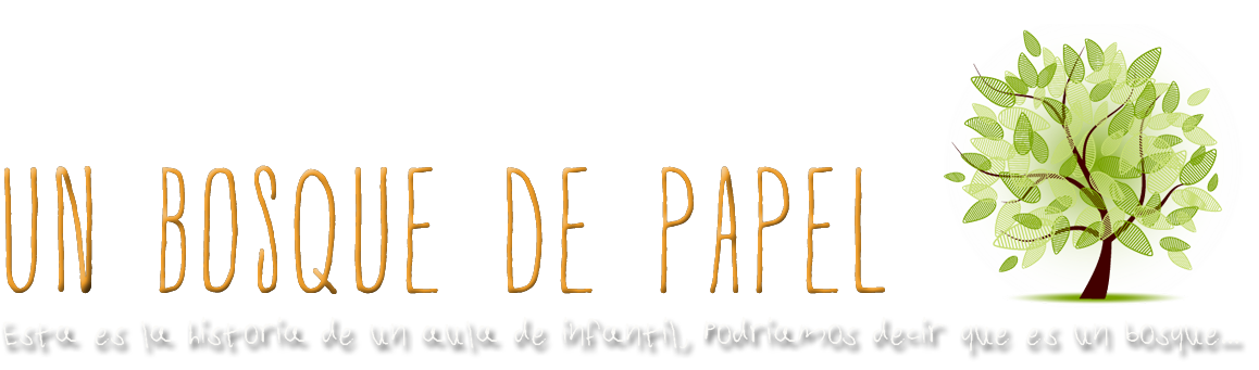 Un bosque de papel