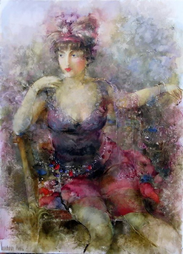 Helen Illichova [Елена Ильичева] 1958 ~ Ukrainian painter