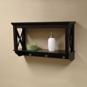 x frame bathroom wall shelf from sourcing solutions wall