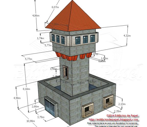 Revisada la Torre de Vigilancia Medieval para esta nueva versión