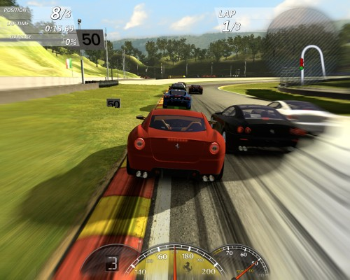 Ferrari Virtual Race game PC