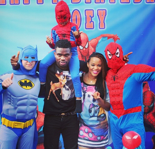 Joseph Yobo And Adaeze Celebrate Their Son's 4th Birthday – Lovely Photos