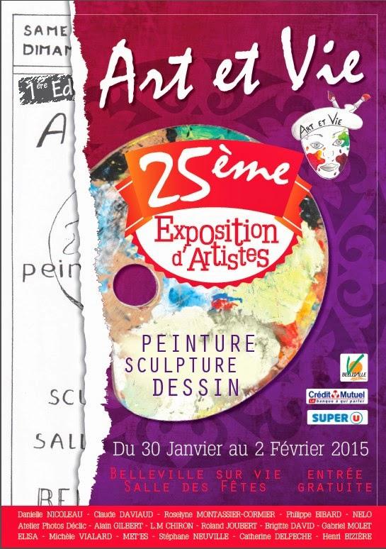 25 ème exposition d'artistes