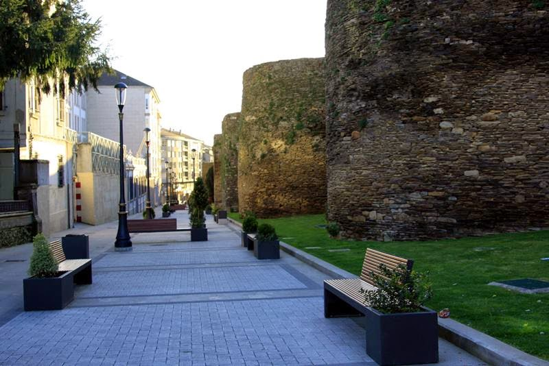 Muralla Romana - Lugo.