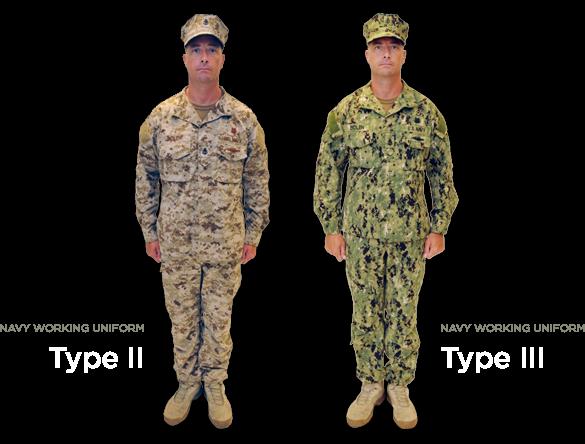 NWU II & III Photos: US Navy