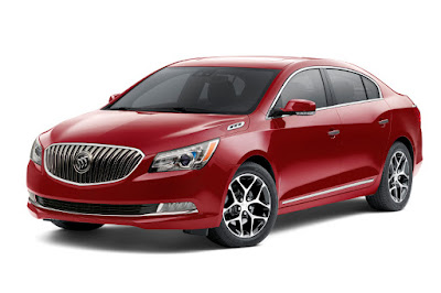 Buick LaCrosse Sport Touring (2016) Front Side