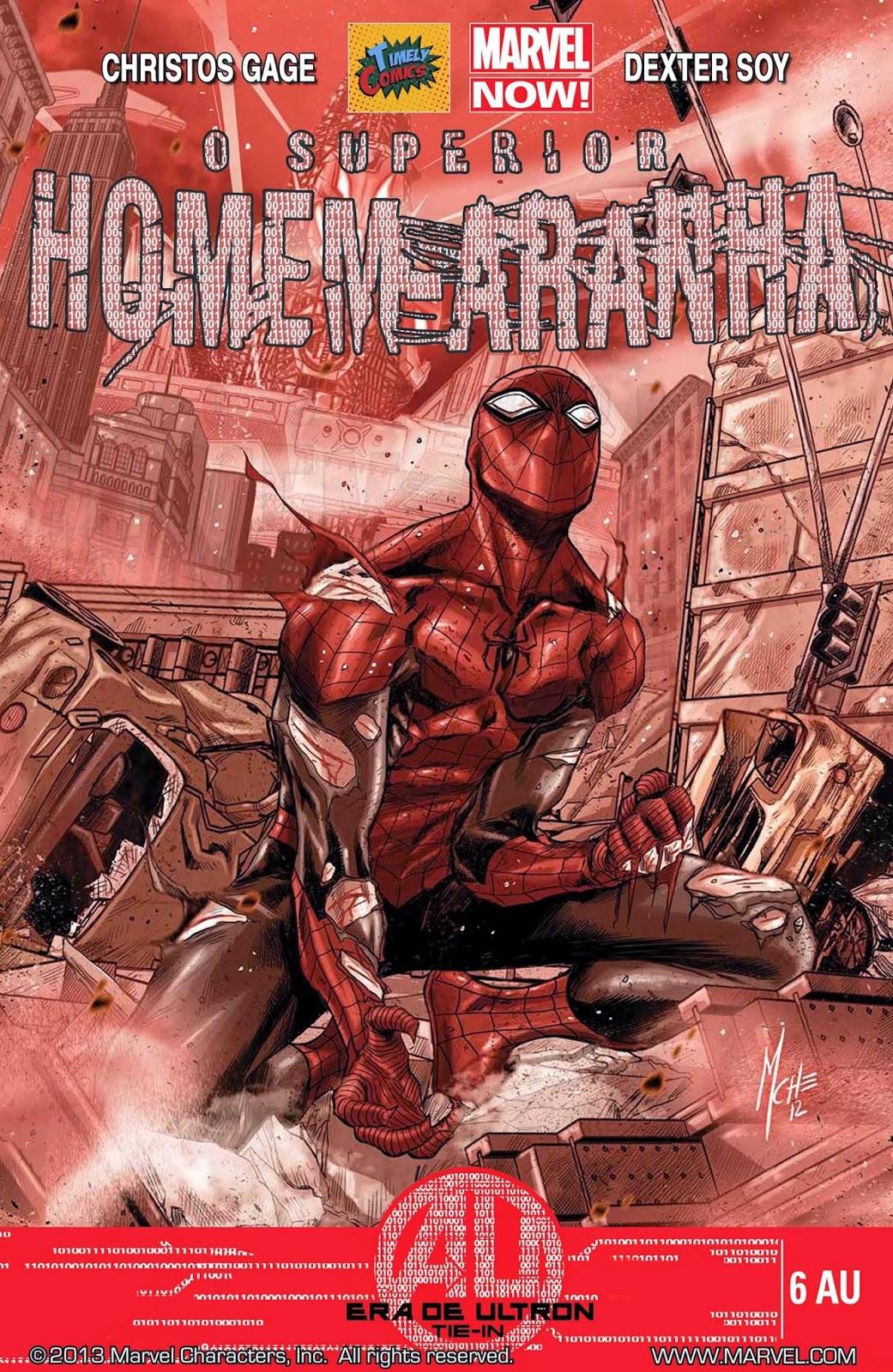 Nova Marvel! O Superior Homem-Aranha #6 EU (Opcional)