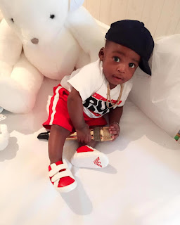 Aww! Tee Billz Shares Adorable Picture Of Tiwa Savage's Son