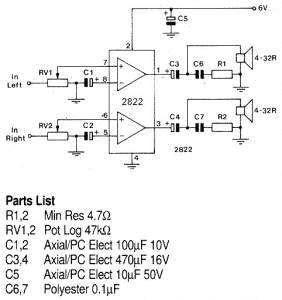 Kumpulan Skema Amplifier