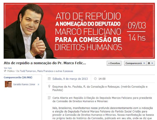 Feliciano pede dinheiro para sistema de 'auxílio espiritual' pelo telefone internet