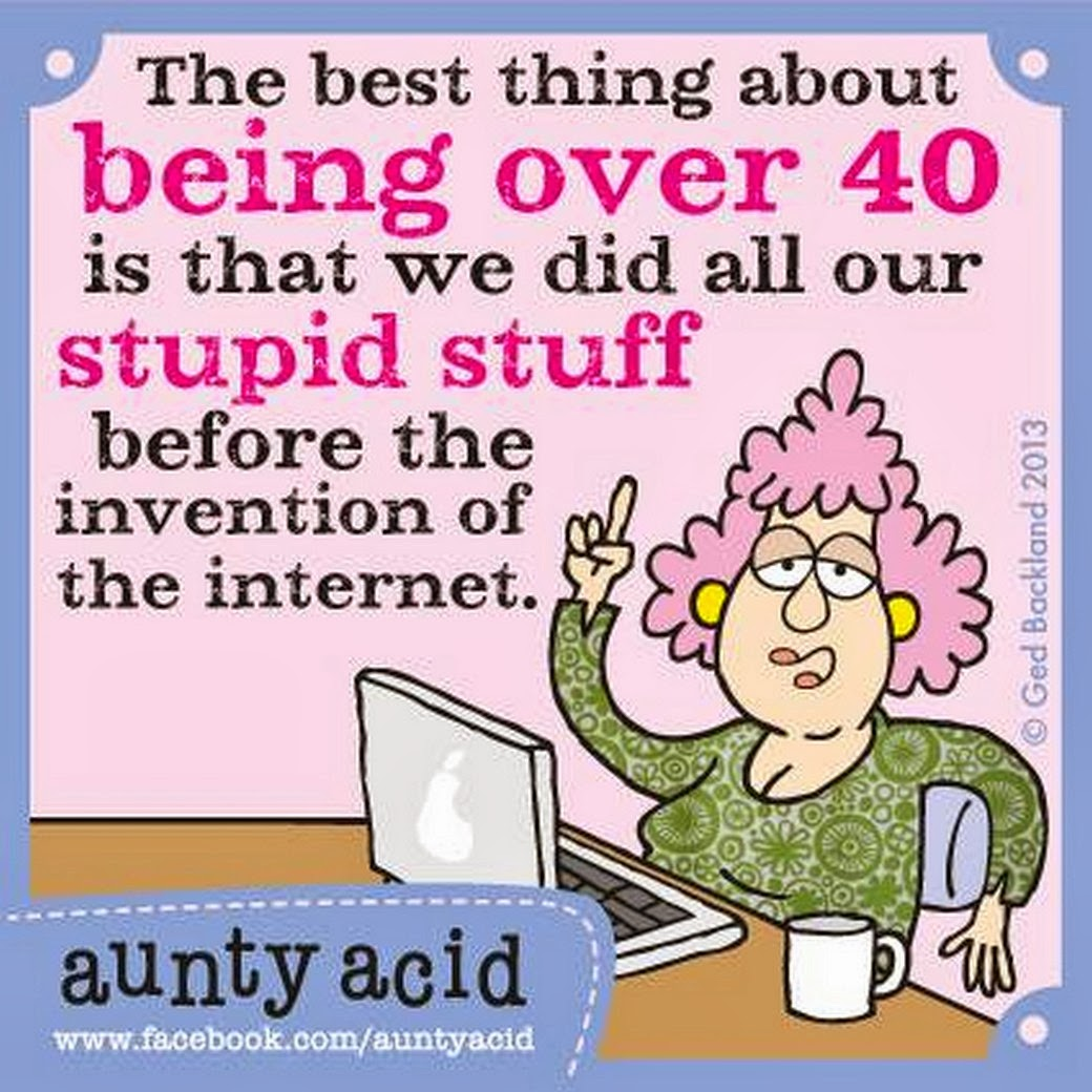 Today on Aunty Acid  Comics by Ged Backland  GoComics