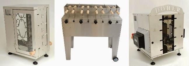 Chimney cake grill