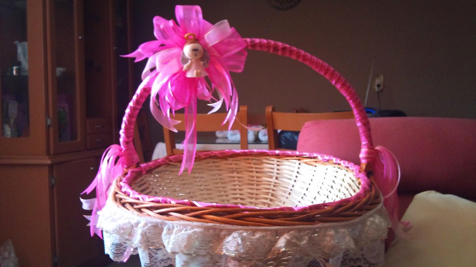 Canastas para recuerdos cake ideas and designs - Canastas de mimbre decoradas ...