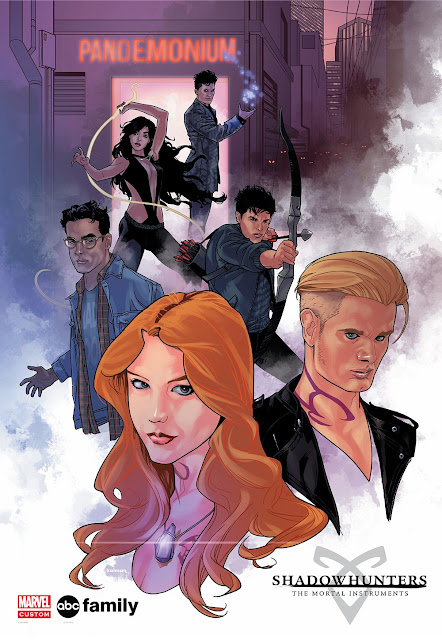 Shadowhunters ABC Instrumentos Mortais City Of Bones