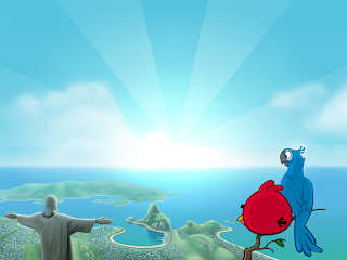 Angry Birds Wallpaper PowerPoint Background-2