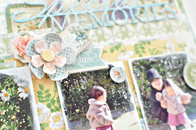 Graphic45#Maiko Miwa#Secret Garden#Layout