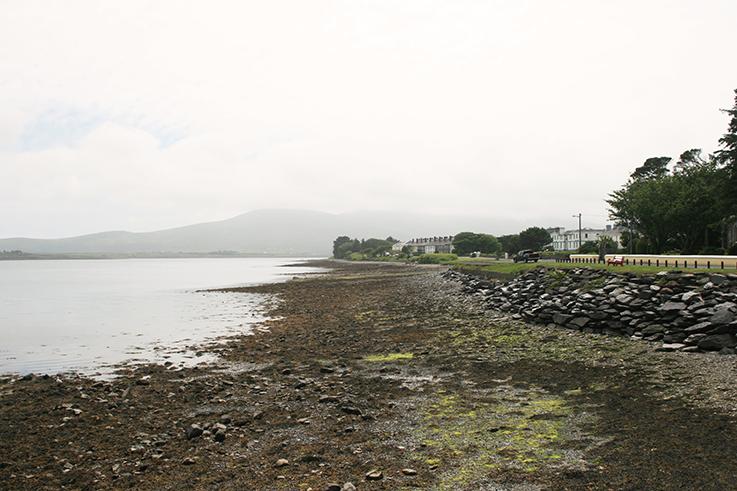 view towards the sea, Valentia in Ireland