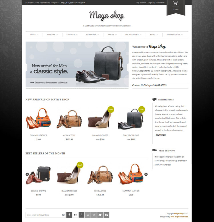 WordPress-Flexible-Responsive-e-Commerce-Theme