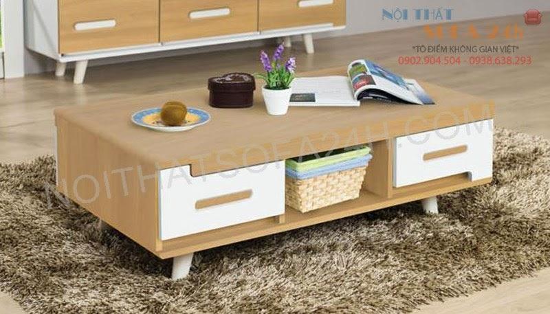 Bàn sofa gỗ BS088