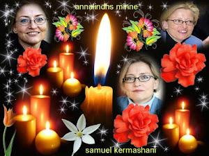 anna lindh was a goodیاد و خاطره آنا لیند را گرامی بداریم آنالیند انسانی بسیار شجاع و مدافع حق بود