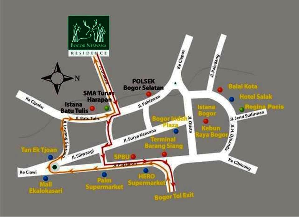 Lokasi The Jungle Bogor