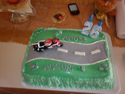 torta per il patito delle moto !!!!!