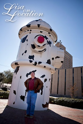 World's Largest Fire Hydrant (actually, third largest) in Beaumont, Texas