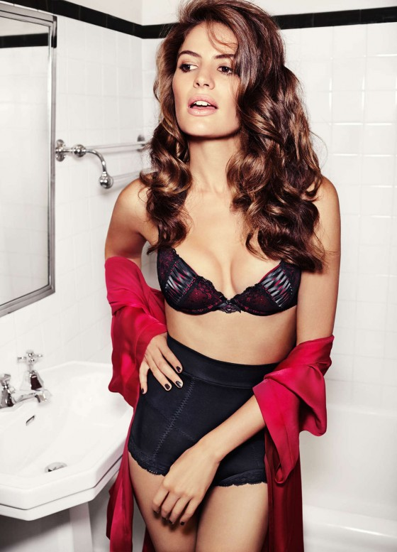 H&M Lingerie Fall/Winter 2013 Lookbook featuring Cameron ...
