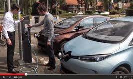 De uitrol van elektrisch vervoer
