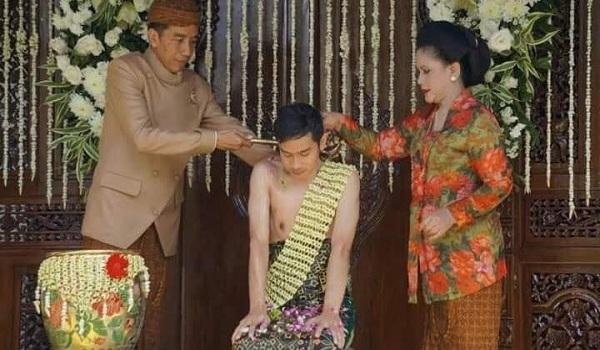 Siraman Adat Jawa