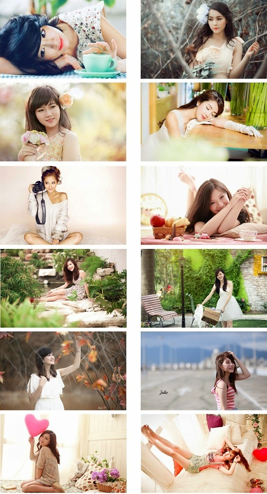 Beauty Asian Girl's Theme For Windows 7 And 8 8.1