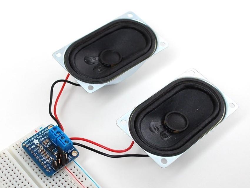 Amplificador de áudio MAX98306 Adafruit