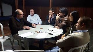 Grupo de investidores e consultores  é recebido pelo secretário de Turismo, Ronaldo Fialho