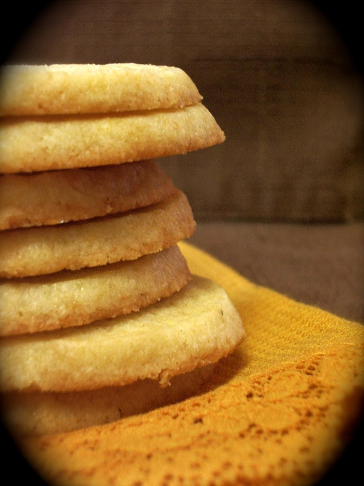 KitchenJoy: Lemon Shortbread Cookies