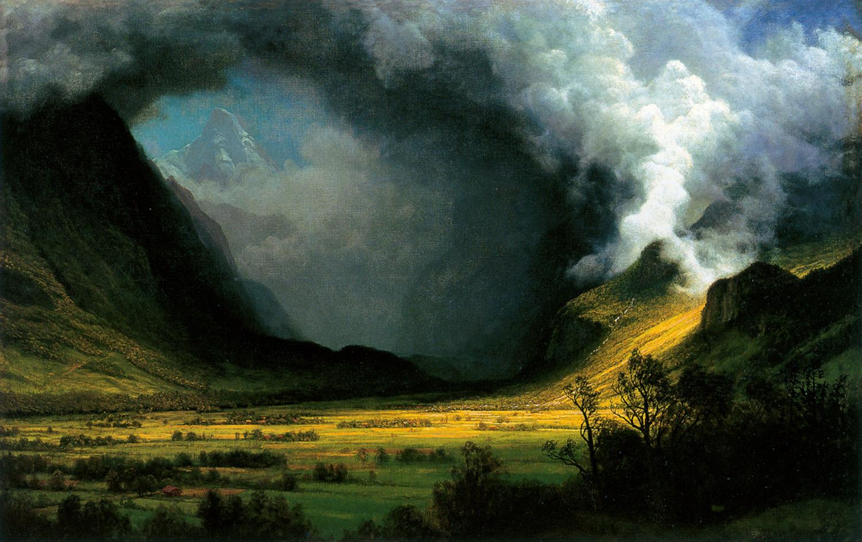Mazmorra Maldita Albert Bierstadt