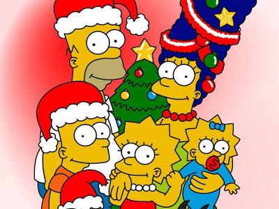 Simpsons, Božićni crtani film slike besplatne pozadine za desktop