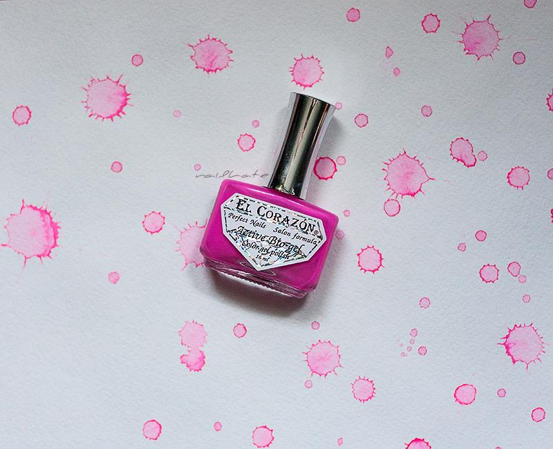 """gradient El Corazon activ bio gel """"Jelly Neon""""  #423/254 #423/256 #423/252 #423/257"""