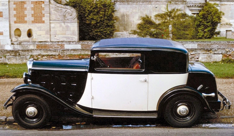 1933 Citroën Rosalie Coupe 15CV